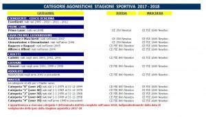 CATEGORIE FIS 2017-2018